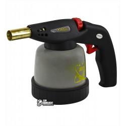 Газовая горелка со сменным баллоном Virok 44V143 c пьезорозжигом