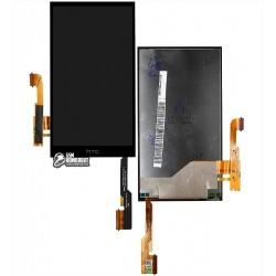 Дисплей для HTC One E8 Dual Sim, черный, с сенсорным экраном (дисплейный модуль)
