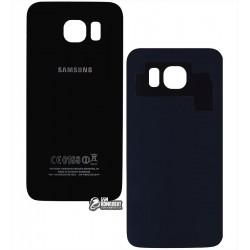 Задняя панель корпуса для Samsung G920F Galaxy S6, синяя, high copy