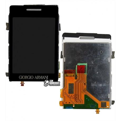 Дисплей для Samsung P520, с тачскрином (модуль), полная сборка