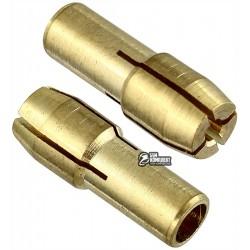Цанга 1 мм, хвостовик 4.8 мм, золото