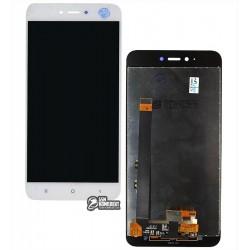 Дисплей для Xiaomi Redmi Note 5A, белый, с сенсорным экраном, Original (PRC), 2/16 gb