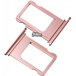 Держатель SIM-карты для Apple iPhone 7, розовый