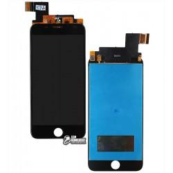 Дисплей для Prestigio MultiPhone 7501 Duo Grace R7, чорний, з сенсорним екраном
