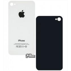 Задняя панель корпуса для Apple iPhone 4, белый, копия AAA, без компонентов