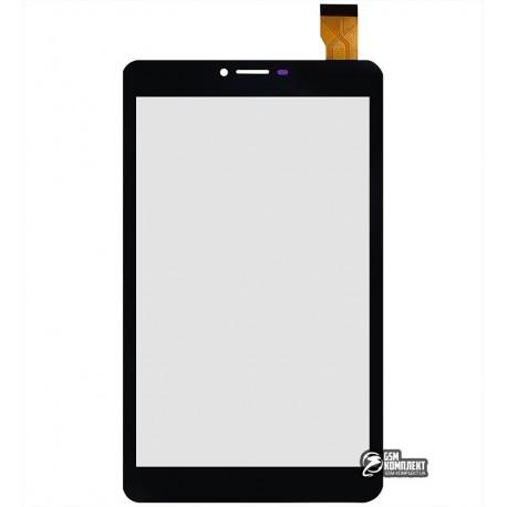 "Тачскрин для планшета Nomi C070011 Corsa 2 3G, 7"", 183 мм, 108 мм, 30 pin, тип 2, емкостный, черный, #JM70F-62/ZYD070-268 V02"