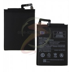 Аккумулятор BN42 для Xiaomi Redmi 4, Li-ion, 3,85 B, 4100 мАч