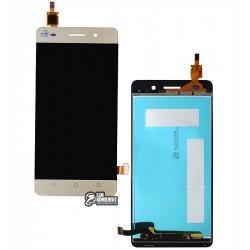 Дисплей для Huawei Honor 4C, золотистый, с сенсорным экраном (дисплейный модуль), original (PRC)