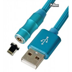 Кабель Lightning - USB, V8 360, magnetic adsorption, магнитный
