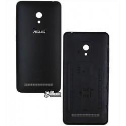 Задняя панель корпуса для Asus ZenFone 5 Lite (A502CG), черная