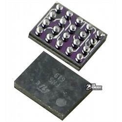 Микросхема усилитель микрофона R1A T2 20 pin для Sony Ericsson D750, K300, K500, K700, K750, K790, K800, W550, W810