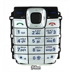 Клавиатура для Nokia 2610, серебристая, русская