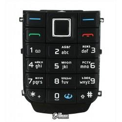 Клавиатура для Nokia 6151, черная, русская