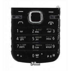 Клавиатура для Nokia 6730c, черная, русская