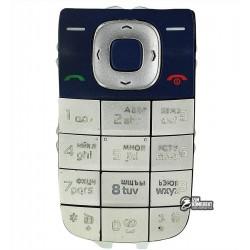 Клавиатура для Nokia 2760, синий, русская