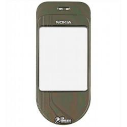 Стекло корпуса для Nokia 7370, коричневое
