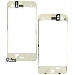 Рамка крепления дисплея для Apple iPhone 3G белая