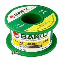Припой BAKU BK-10005, Sn 97%, Ag 0.3%, Cu 0.7%, flux 2%, 0,5 мм, 30 г