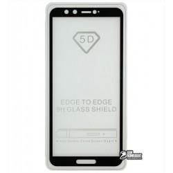 Закаленное защитное стекло для Huawei Honor 9 Lite, 0,26 mm 9H, Full Glue, черное