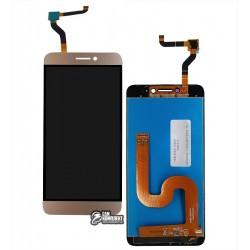 Дисплей для LeEco LeTV Cool1, золотой, с сенсорным экраном (дисплейный модуль)