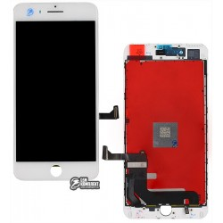 Дисплей iPhone 7 Plus, белый, с сенсорным экраном (дисплейный модуль), original (PRC)