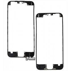 Рамка крепления дисплея для Apple iPhone 6, черная
