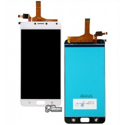 Дисплей для Asus Zenfone 4 Max Pro (ZC554KL), белый, с сенсорным экраном (дисплейный модуль), original (PRC)