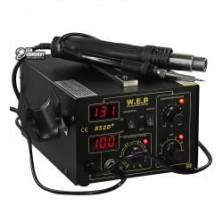 Термовоздушная паяльная станция WEP 852D+FAN фен, паяльник
