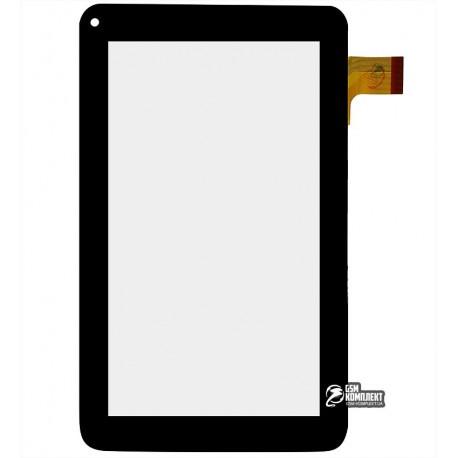 """Тачскрин (сенсорный экран, сенсор ) для китайского планшета 7"""", 30 pin, с маркировкой CTP070-009FPC, MF-309-070F-2В, для Globex"""