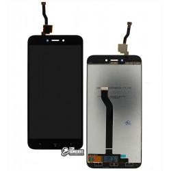Дисплей для Xiaomi Redmi 5A, черный, с сенсорным экраном, Original (PRC)