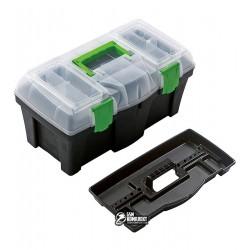 """Ящик для инструментов с органайзером Virok """"Green box 18"""""""