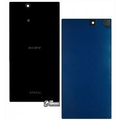 Задня панель корпусу для Sony C6802 XL39h Xperia Z Ultra, C6806 Xperia Z Ultra, C6833 Xperia Z Ultra, чорна