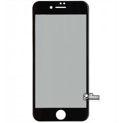 Закаленное защитное стекло Baseus 0.23mm Soft edge Anti-peeping Glass Film для iPhone 8 черное (SGAPIPH8N-TG01)
