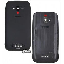 Задняя крышка батареи для Nokia Lumia 610, черный, оригинал