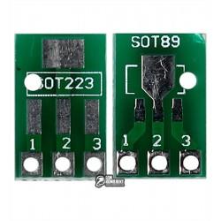 Макетная плата переходник с SOT223 / SOT89