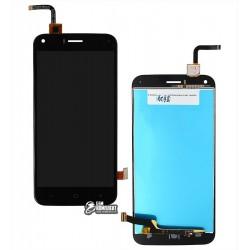 Дисплей для UMI London, черный, с сенсорным экраном (дисплейный модуль)