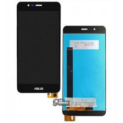 """Дисплей для Asus Zenfone 3 Max (ZC520TL) 5,2"""", черный, с сенсорным экраном (дисплейный модуль)"""