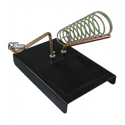 Подставка для паяльника с кронштейном для катушки припоя M-302