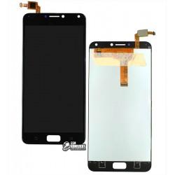 Дисплей для Asus Zenfone 4 Max Pro (ZC554KL), черный, с сенсорным экраном (дисплейный модуль), original (PRC)