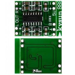 Cтерео аудио усилитель D-класса на PAM8403, 2х3Вт