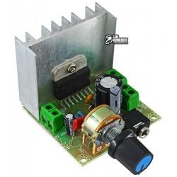 Стерео аудио усилитель TDA7297 с регулятором громкости 2x15W, 9-15V