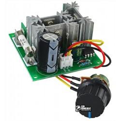 Регулятор оборотов двигателя постоянного тока CCM6C с выносным резистором, 12-40В 15А