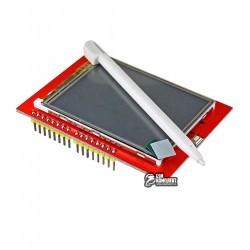 Цветной графический TFT дисплей для ARDUINO UNO R3, 2.4 дюйма