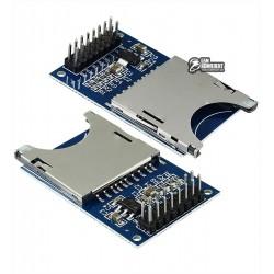 SPI модуль считывания SD карт для ARDUINO