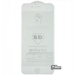 Закаленное защитное стекло для Apple iPhone 6 / iPhone 6s, Full Glue, 0,26 мм 9H, белое
