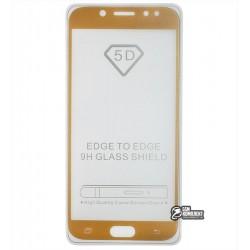 Закаленное защитное стекло для Samsung J730 Galaxy J7 (2017), Full Glue, 0,26 мм 9H