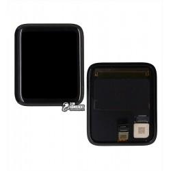 Дисплей для умных часов Apple Watch 2 42mm, черный, с сенсорным экраном