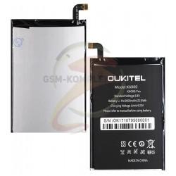 Аккумулятор для Oukitel K6000/K6000 Pro, Li-ion, 3,8 В, 6000 мАч