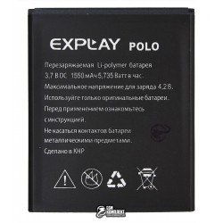 Аккумулятор (акб) для Explay Polo, (Li-polymer 3.7V, 1550мАч)