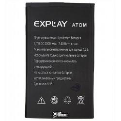 Аккумулятор (акб) для Explay Atom, (Li-polymer 3.7V, 2000мАч)
